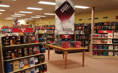 Borders Books Stores Close